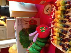 Book theme baby shower - Hungry Caterpillar Fruit