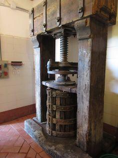Wine press at Castellare vineyard Wine Press, Vineyard, Italia, Vine Yard, Vineyard Vines