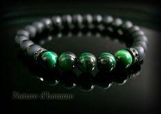 Bijoux hommes Un bracelet homme de carractère en pierres #men'sjewelry