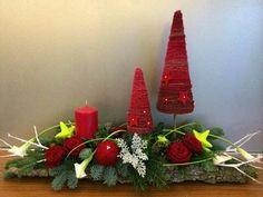 Новогодние композиции, рождественские веночки, елочки. | 22 photos