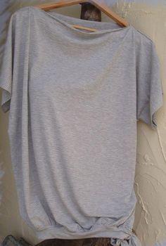 Top en jersey femme, Patron couture gratuit