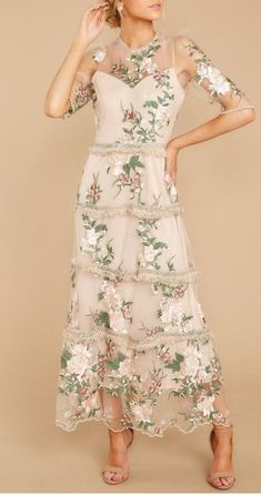 Honestly Love You Pink Floral Maxi Dress - Stunning Pink Floral Maxi Gown – Embroidered Lace Dress – Floral Print Gowns, Pink Floral Maxi Dress, Printed Gowns, Boho Dress, Dress Lace, Bohemian Dresses, Swag Dress, Mother Of Bride Outfits, Mother Of Groom Dresses