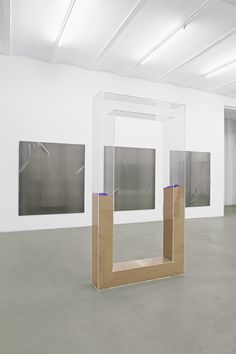 Nicole Wermers Untitled Forcefield (sand portal)