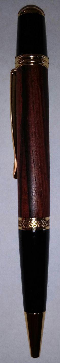 Kugelschreiber Sierra gold mit Bubinga