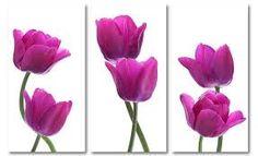 Afbeeldingsresultaat voor abstracte tulpen schilderen