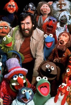 Jim Henson and Kermit and Miss Piggy and chickens and ...  so terrible to lose a genius mind at such a young age.