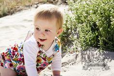 Proud parent: Gillian Beechey Location: Victoria, Australia Wearing: Cotton shortall in summer garden