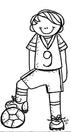 Super sport kids clipart coloring pages Ideas Coloring Pages For Boys, Disney Coloring Pages, Colouring Pages, Coloring Books, Boy Coloring, Mom Clipart, Cute Clipart, Clipart Images, Clipart Black And White