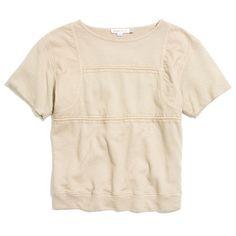see by chloe short sleeve sweatshirt