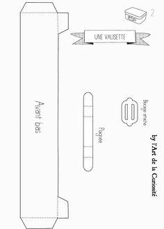 Maletinha para Doces de Aniversário para Imprimir - Convites Digitais Simples
