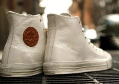 These too!!! All-star Leather Hi-Top converse