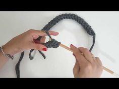 Crochê Moderno - Alça para bolsa em fio de malha - YouTube