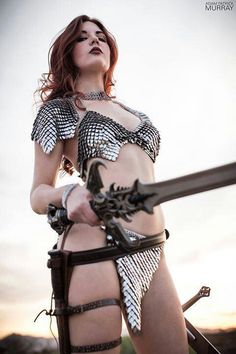 Character: Red Sonja / From: MARVEL Comics & Dynamite Comics 'Red Sonja' / Cosplayer: Unknown