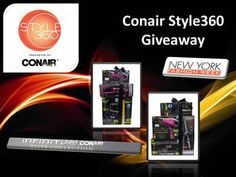 Check out the Conair Style360 Giveaway to win a prize pack of the latest Infiniti Pro by Conair products! 1 winner chosen at noon E.T. every day from February 11-14, 2013. 4 winners total!