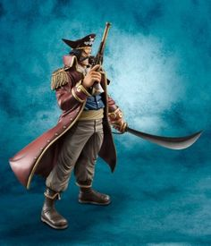 The figurine manufacturer MegaHouse has recently scheduled for release a pair of amazing and extremely detailed figures from the One Piece series. The King of Pirates; Gol D. Roger and The Man Closest to One Piece; Edward Newgate (Whitebeard) are the newest additions to the Portrait Of Pirates series.