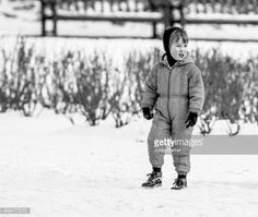 Prince William, out for a walk in the snow in a London Park, on February 1986 in London, United Kingdom. Get premium, high resolution news photos at Getty Images Prince William Family, Prince William And Harry, William Kate, Prince Harry, Diana Son, Lady Diana, Princess Diana Photos, Royal Babies, British History