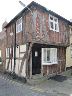 One of the few ancient buildings left in Scarborough