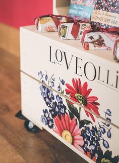 Love Olli Retail Display Unit Food Retail, Retail Displays, Bar Soap, Toy Chest, Crates, Decorative Boxes, The Unit, Wedding, Home Decor