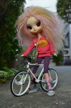 Ciclista fofa, dal doll