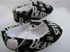 Beatles booties (not to give you any ideas or anything)