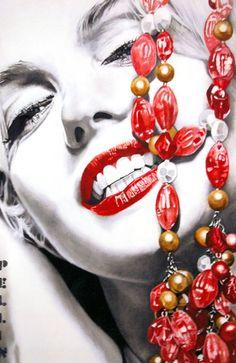 ❤Marilyn Monroe Art ~*❥*~❤ cinziapellin | CONTEMPORANEI OGGI