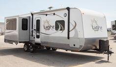 The Light Travel Trailer Floorplans by Open Range RV