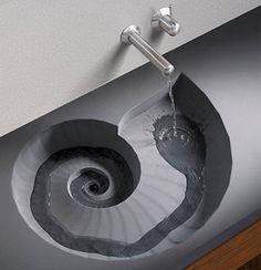 swirl sink