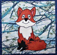 Fox Applique Quilt Block   Craftsy