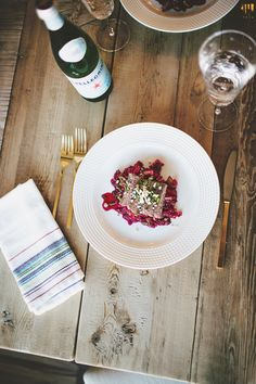 In the Kitchen with Blue Apron (2)... - Pink Peonies by Rach Parcell