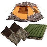 On sale Ozark Trail Mossy Oak 6 Person Camping Solution Value Bundle Black…