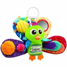 Lamaze Play and Grow Jacques the Peacock Take Along Toy $12