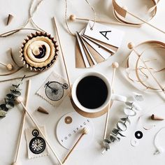Coffee and paper crafting. My way of relaxation.
