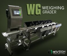 WG #WeighingGrader is extremely easy to clean, hence, you can always maintain hygiene with ease. It comes with touch operation, TFT display, compact stainless steel structure & quick installation process! Buy it @ www.hiweigh.com/product-details/wg-weighing-grader