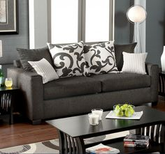 Colebrook Charcoal Sofa Collection SM3010-SF