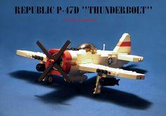 Thunderbolt #flickr #LEGO #plane