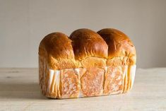 A Brioche is a brilliant thing of beauty, each slice divine.Makes two small loaves or one large 'Top Knot' loaf.You can buy our Brioche loaf on our online Strong white Sea Caster Col. Brioche Loaf, Brioche Recipe, Sweet Dough, Wicked Good, I Want To Eat, Sweet Bread, Bread Recipes, Delish, Bakery
