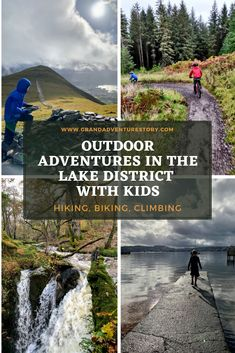 Spend an active long weekend in the autumn in the Lake District with kids with these great outdoor adventure options: mountain biking (Whinlatter Forest), hike Skiddaw with kids, see Aira Force waterfall, boating on Derwentwater. Includes packing list: what to pack for an autumn weekend in the Lake District with kids Sweden Travel, Austria Travel, American Attractions, England Tourism, Hiking Photography, Hiking With Kids, Travel Guides, Travel Tips, Lake District