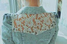 Duas excelente ideias de reciclagem de blusão e camisa jeans. O conceito é reciclar e reutilizar. A moda implica que um modelo que usamos hoje deixe de est