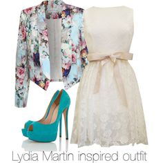 """Lydia Martin inspired outfit/Teen Wolf"" by tvdsarahmichele on Polyvore"