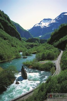 Flam Railway - Descent into the fjords of Flam