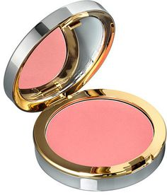 Celeb makeup! Photographer and makeup artist Jake Bailey used this La Prairie Cellular Radiance Cream Blush in Peach Glow to add warmth to Selena Gomez's cheeks.
