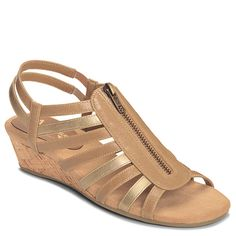 Yetaway Zip Dress Sandal | Women's Sandals Wide Width Sandals | Aerosoles