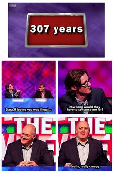 If this is the answer. What is the question? | Ed Byrne and Dara O'Briain | Mock the Week