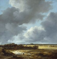van ruisdael wheat fields