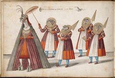 Daniel Rabel, Entrée de la Douairière et de ses dames, 17th Century.