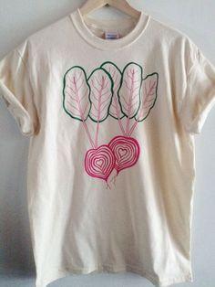 Beet Shirt Graphic Tee Vegetable Screen Print Shirt Clothing Foodie Gift -   - #HeartShirt