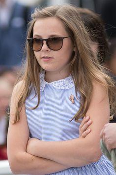 Beautiful Princess Ingrid Alexandra during the Royal Silver Jubilee Tour on June 23, 2016 in Trondheim, Norway.