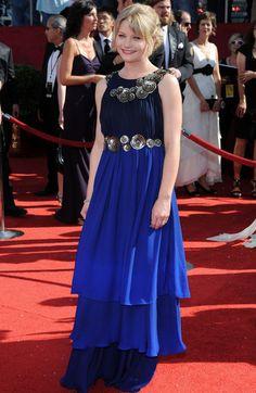 Emilie De Ravin Photos: 60th Primetime Emmy Awards Emilie De Ravin, Elton John Aids Foundation, Bond Girls, Awards, Spiritual, Lost, Formal Dresses, Hair Styles, Nature