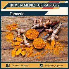 With anti-inflammatory and antioxidant properties, turmeric is as popular as garlic in treating skin diseases. In case of home remedies for psoriasis, the ingredient can deal with inflammation and inhibit the enzyme called phosphorylases used to promote cells growth. Home Remedies For Psoriasis, Cell Growth, Turmeric, Garlic, Treats, Popular, Food, Sweet Like Candy, Most Popular