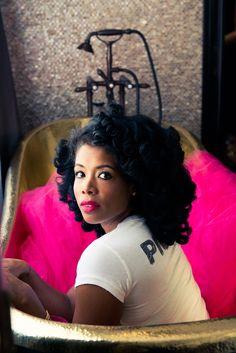 Kelis for The Coveteur via @fashionbombdaily #curls #naturalhair #kelis